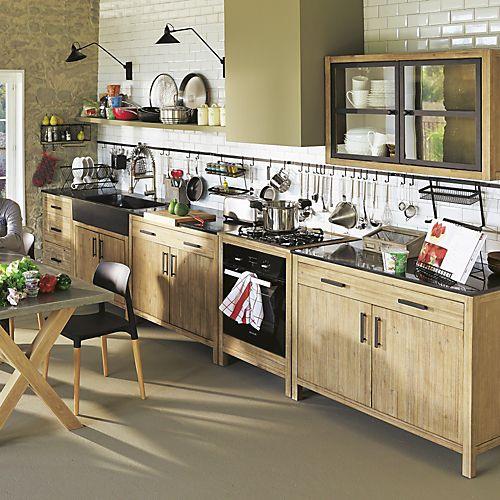 Gamme De Meubles De Cuisine En Acacia Lys Cuisines Modulables Meubles De Cuisine Cuisine Par Piece Dec Meuble Cuisine Mobilier De Salon Cuisine Modulable