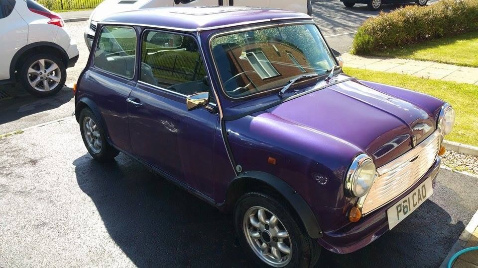 Ebay Classic Mini Equinox 13 Spi Limited Edition Rover Purple
