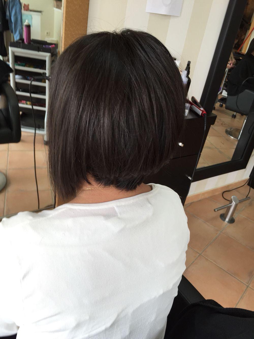 Corte Nuca Alta Y En Uve Peinado Pinterest