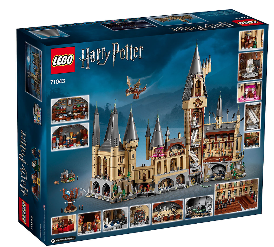 6 000 Piece Lego Harry Potter Hogwarts Arrives Ahead Of The