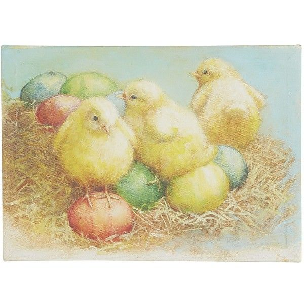 Pier 1 Imports Multi-colored Chick Wall Decor ($13) ❤ liked on ...