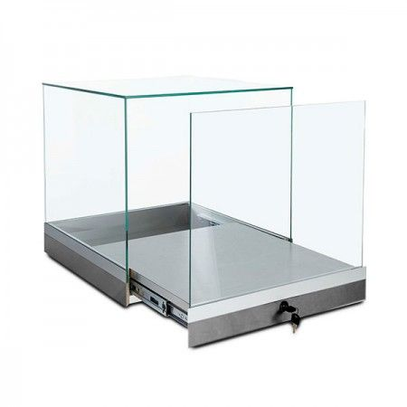 Glass Square Display Case 20 Wall Display Case Glass Display Case Glass Cabinets Display
