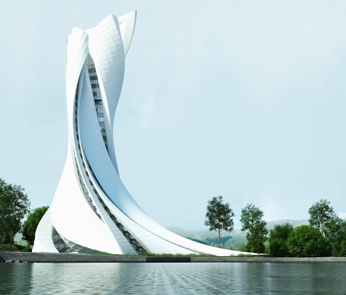 The Most Sensational Futuristic Architecture Architecture Admirers Arquitectura Increible Fachada Arquitectura Arquitectura Futurista