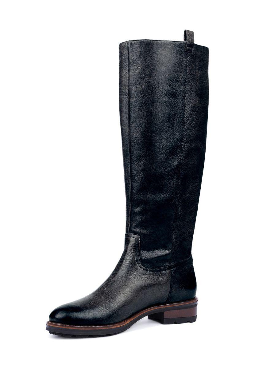 Gino Rossi Stiefel Nevia, Leder, Absatz 2,5 cm schwarz Jetzt bestellen unter a760683ed4