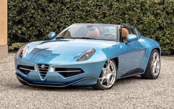 Alfa Romeo Disco Volante For Sale >> Alfa Romeo Disco Volante Spyder To Make Its Debut In North