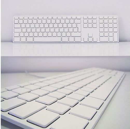 Custom apple keyboard any color so long as its white ccuart Gallery