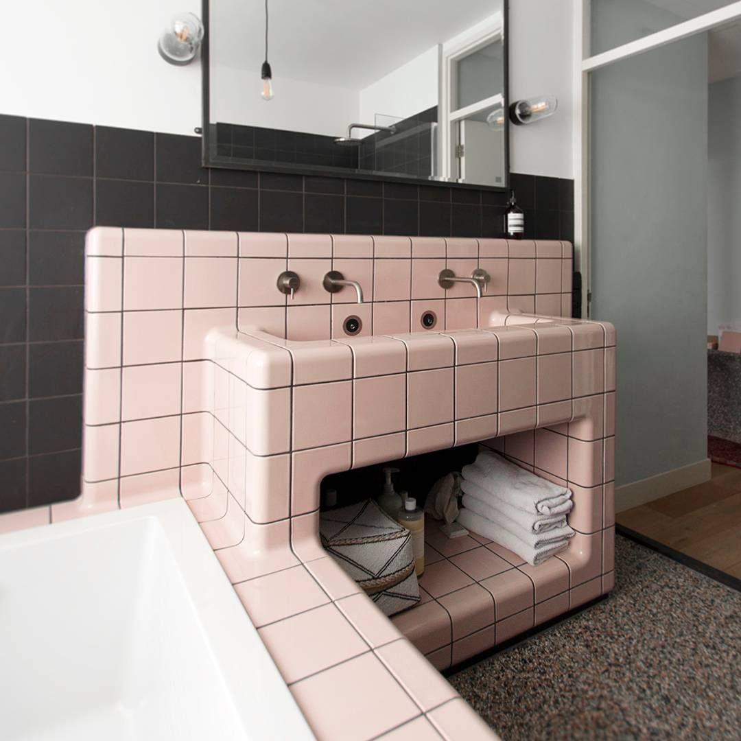 Dtile Le Carrelage Le Plus Polyvalant Du Monde Qui S Adapte A Vos Surfaces Idee Salle De Bain Decoration Salle De Bain Salle De Bain Design