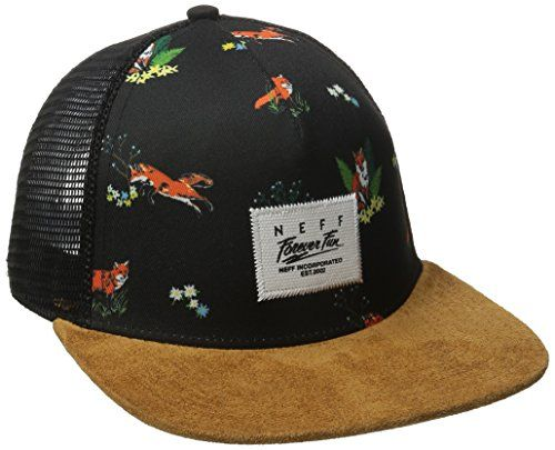 194720f8fd1 Neff Womens Lois Trucker Hat Black One Size -- You can find more details by