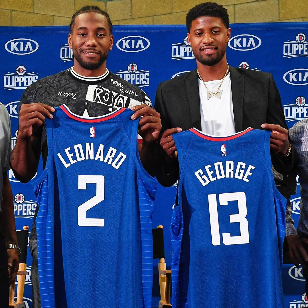Image May Contain One Or More People Los Angeles Clippers Paul George La Clippers