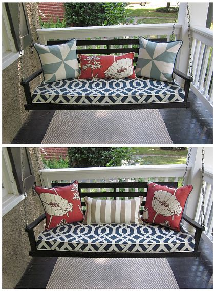 pertaining outdoor intended we for back with home own porch bring and your to cushions ideas care maintenance swing