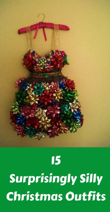 15 Surprisingly Silly Christmas Outfits For The Entire Family ... see more  at InventorSpot.com - So So Many Surprisingly Silly Christmas Outfits For The Entire
