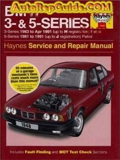 Download Free Bmw 3 Bmw 5 Series E30 E28 E34 1981 1991 Repair Manual Image By Autorepguide Com Repair Manuals Repair Bmw