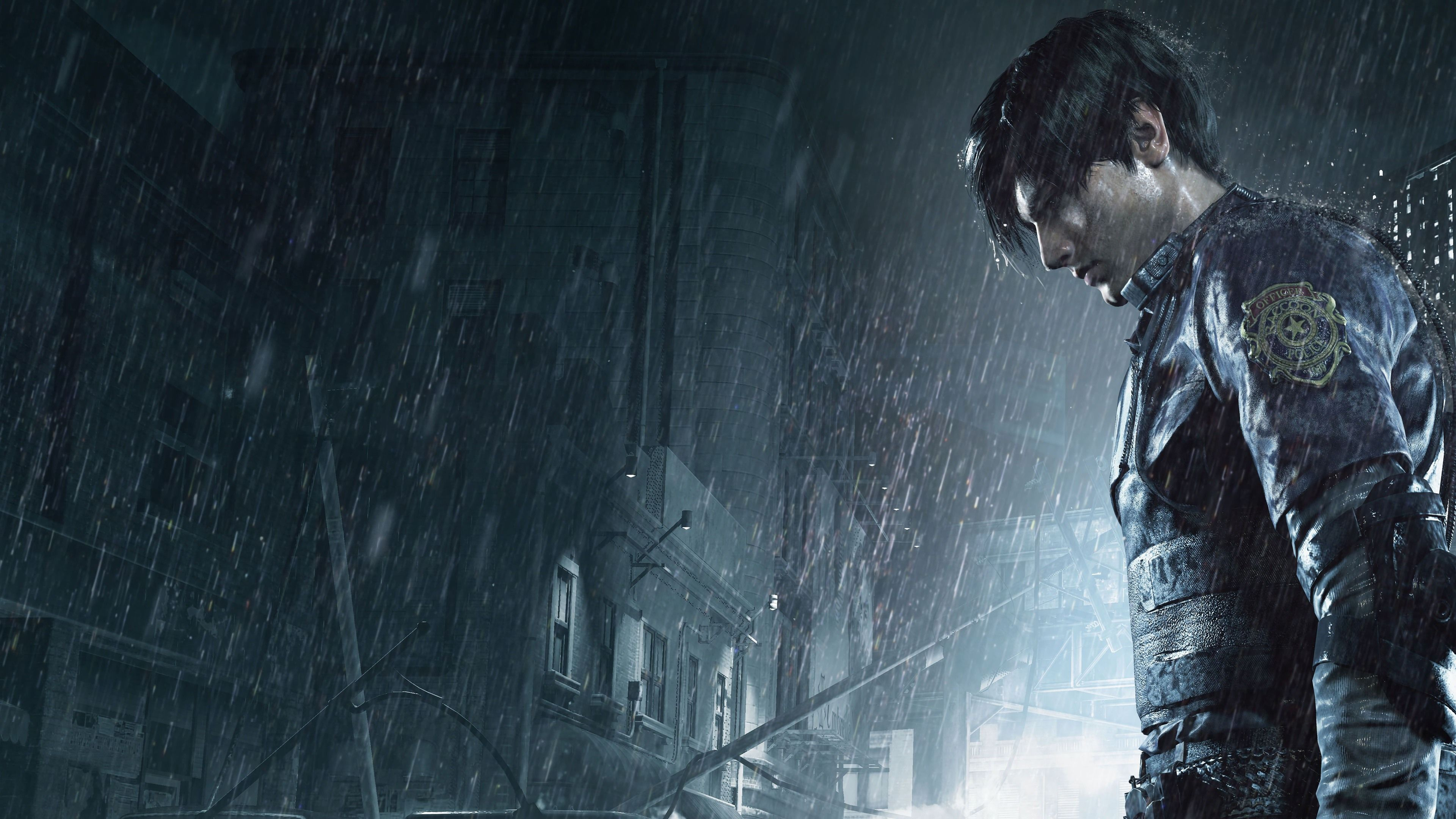 Leon Kennedy Resident Evil 2 Resident Evil 2 Wallpapers