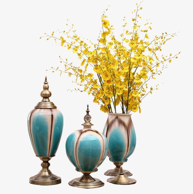 Living room furniture, vases Decoration, Continental ...