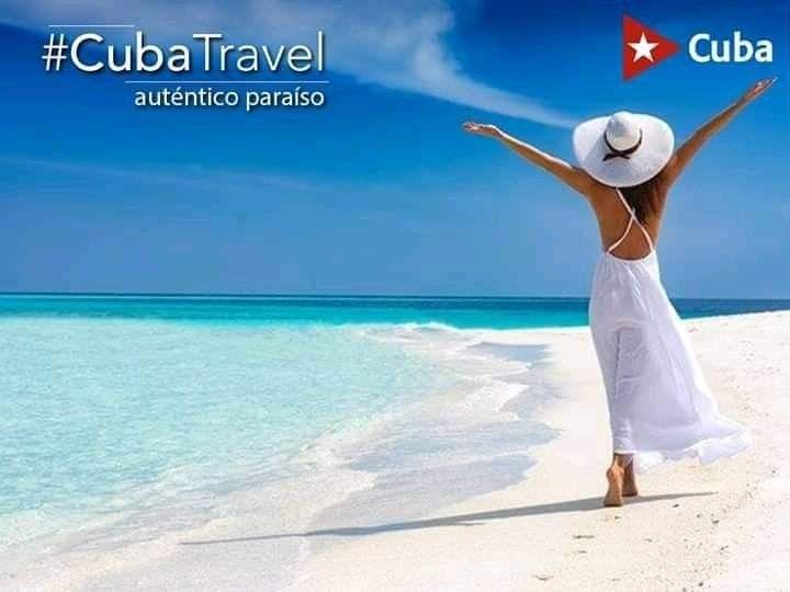#Cuba #CubaTravel #Travel #TurismoSeguro #Beach #Playa #Turismo
