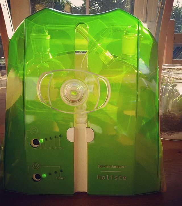 Mon premier investissement 😃 Le bol d air de jacquier !!! Catalyseur d oxygénation cellulaire #naturopathie #oxygenation #vitalite