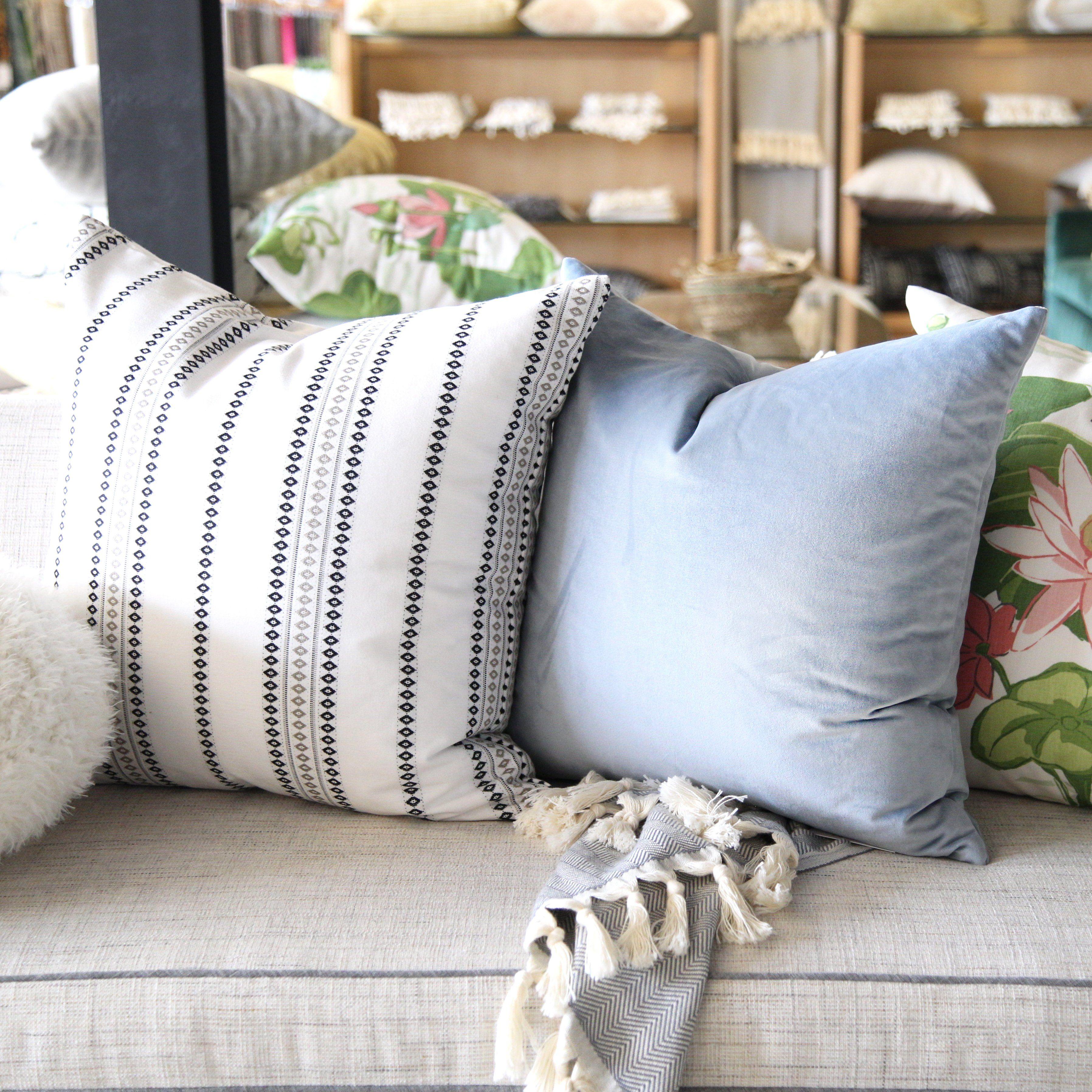 100 Polyester Sofa Throws Repair Sagging Cushions Ritz Velvet Sky Pillows By Tonic Living Pinterest
