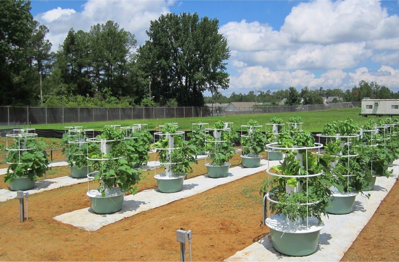 Future Growing Tower Gardens At University Of Mississippi