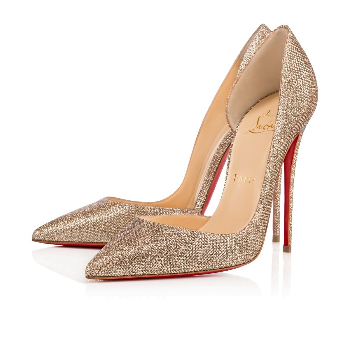 Shoes - Iriza - Christian Louboutin. Iriza 120mm Gold Glitter ... 4391c896866e