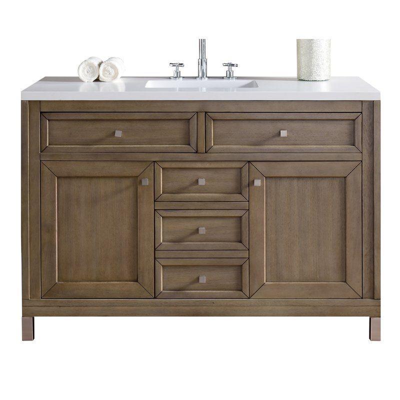 Whitworth 48 Single Bathroom Vanity Base Only Bathroom Vanity