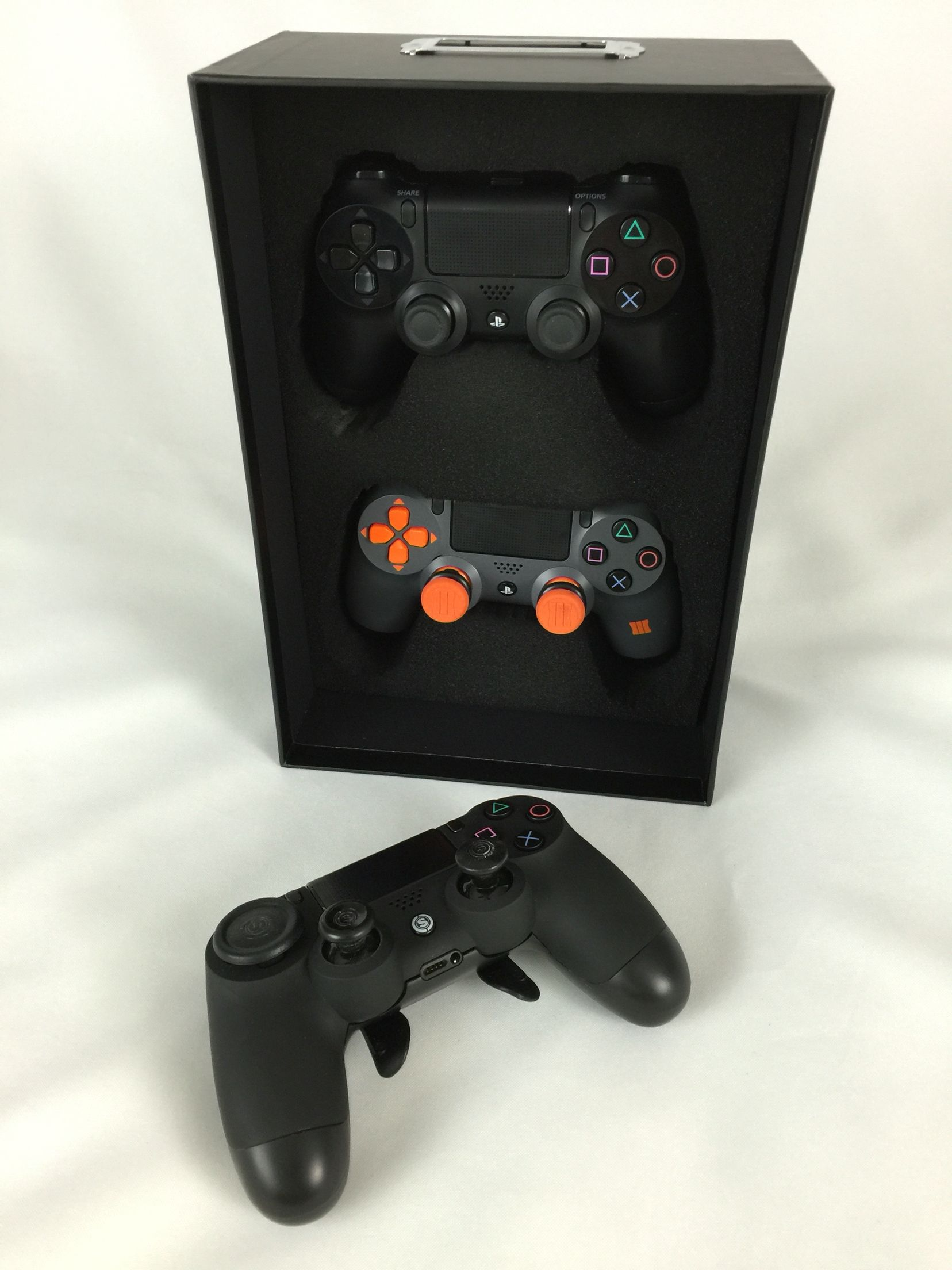PS4 custom shoe box controller storage, scuf controller | gaming