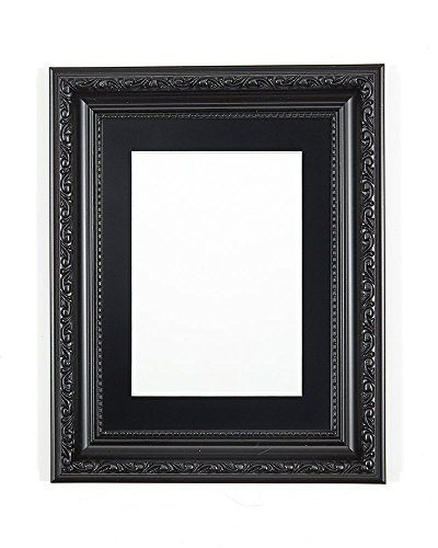 From 7.34 Black Ornate Shabby Chic Picture/photo/poster Frame With ...