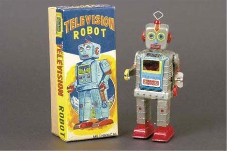 Christie S In London Will Be Auctioning Off A Stupendous 340 Item Collection Of Toy Robots And Space Toys On November 17th These Belong To Paul Lips A Collect