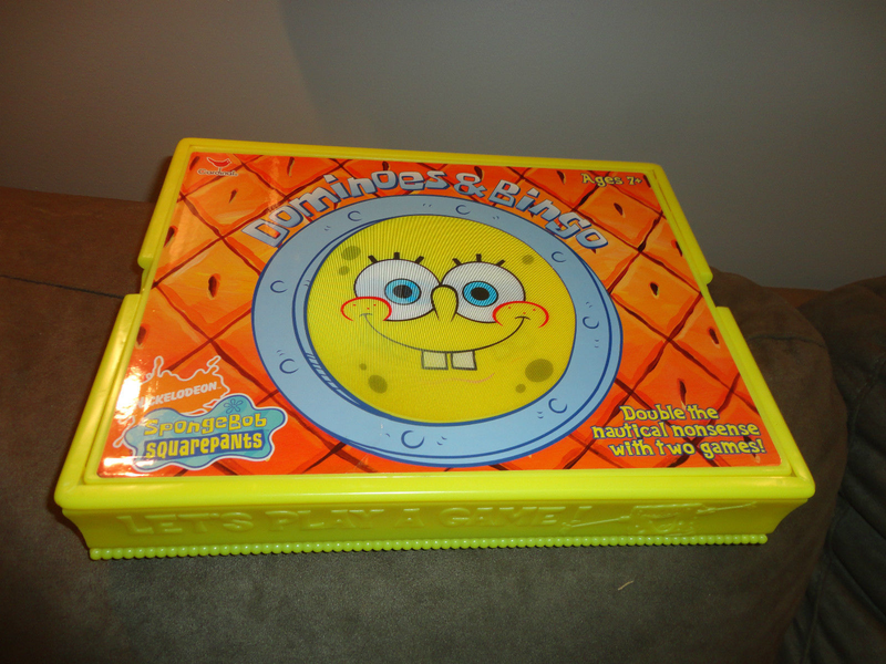 Spongebob Squarepants Bingo with Dominoes game set find me
