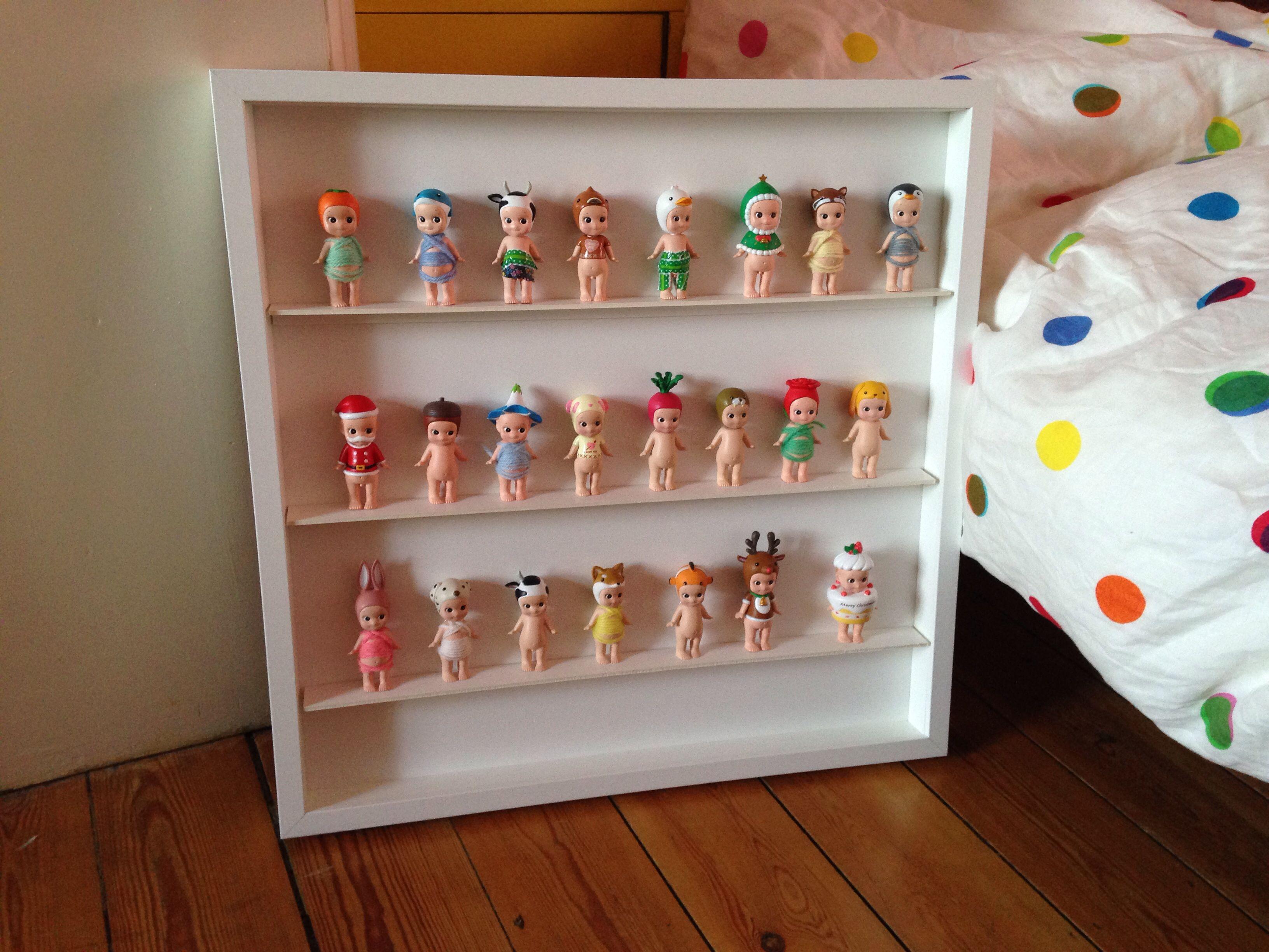 tag re sonny angel ribba ikea sonny angel 39 s shelf lego friends pinterest sonny angel. Black Bedroom Furniture Sets. Home Design Ideas