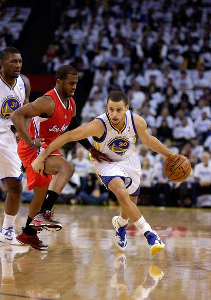 886e4cf595b Stephen Curry  30 of the Golden State Warriors drives on Chris Paul  3 of  the Los Angeles Clippers at Oracle Arena on January 2