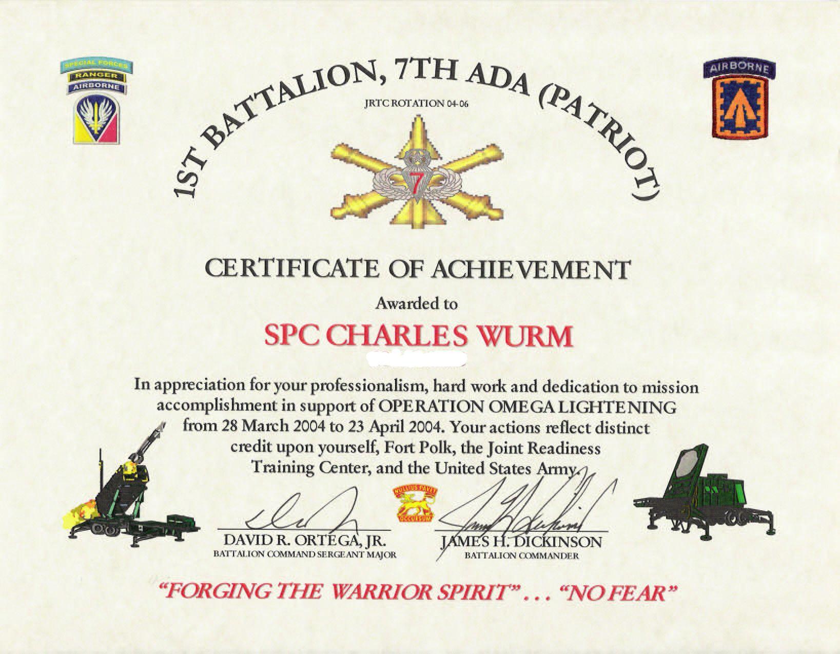 Education Awards Regarding Army Certificate Of Appreciation Certificate Of Achievement Template Certificate Of Achievement Certificate Of Completion Template Air force certificate of appreciation template