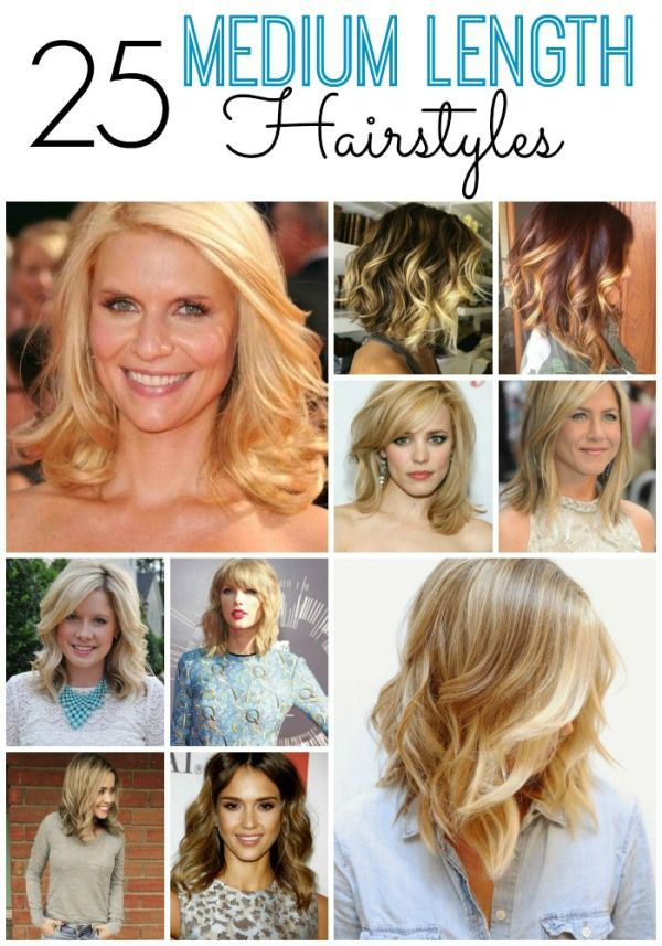 25 Medium Length Hairstyles You Ll Want To Copy Now Medium Length Hair Styles Hair Styles Hair Lengths