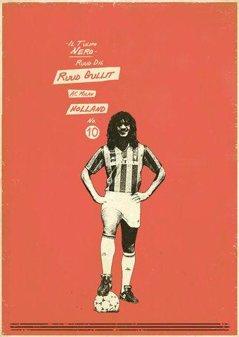 #Gullit #Legends #Soccer #Holland La Naranja Mecánica