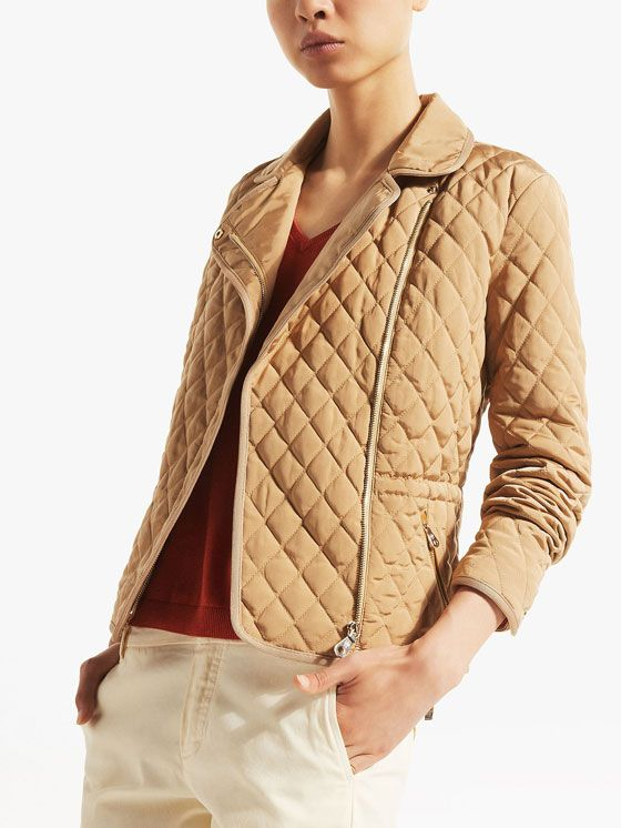 0a01993d9b massimo dutti 2015 QUILTED BIKER JACKET | Coats & Jackets! | Jackets ...
