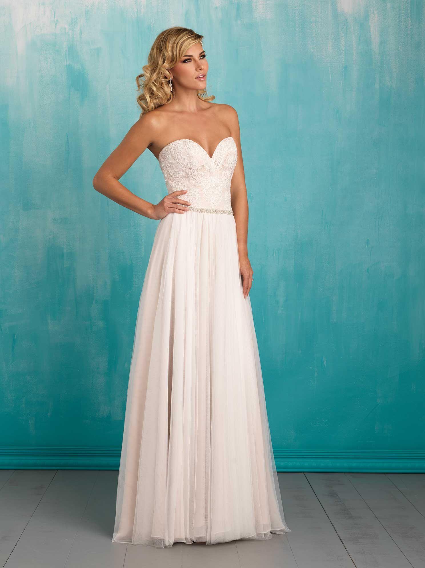 Pin by Melissa Stout on Wedding Dress | Pinterest | Allure bridal ...