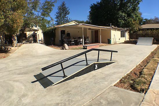 keen ramps, private skatepark, training facility, Northridge