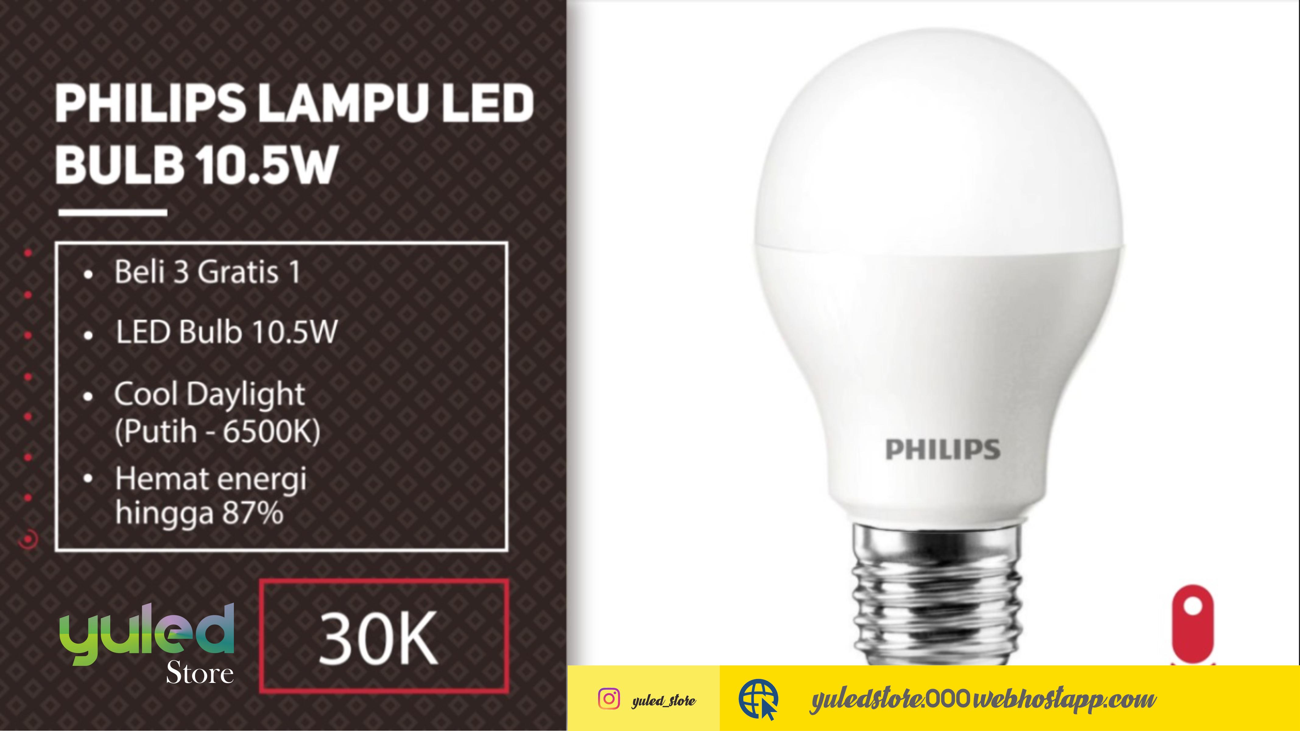 RTD Lampu Depan LED 6 sisi - 6 Mata Super Bright + Kipas - Putih RTD ...