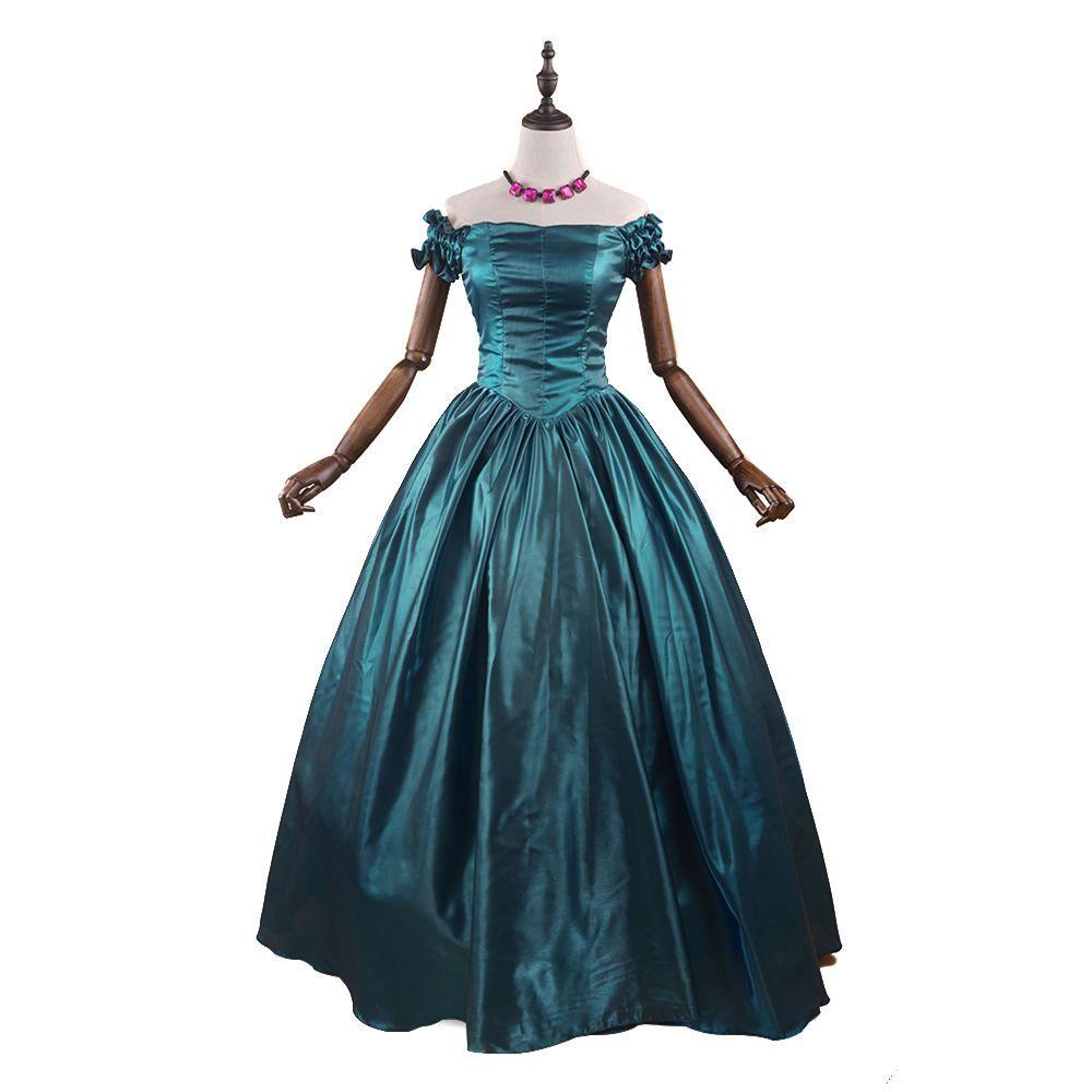 Lady Renaissance Victorian Old West Princess Dress Ball Gown Dance ...