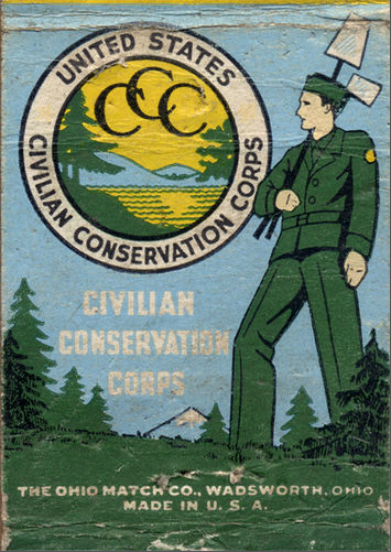 United States Civilian Conservation Corps. Pinned by a Taste ...