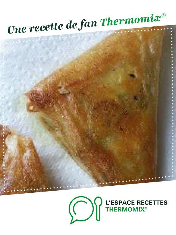 Samoussas de légumes #monsieurcuisineconnectrecettes