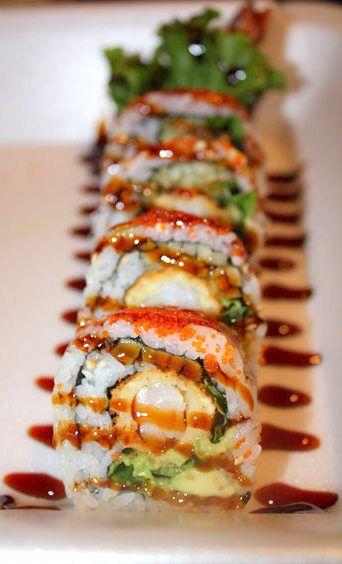 sushi roll tempura shrimp
