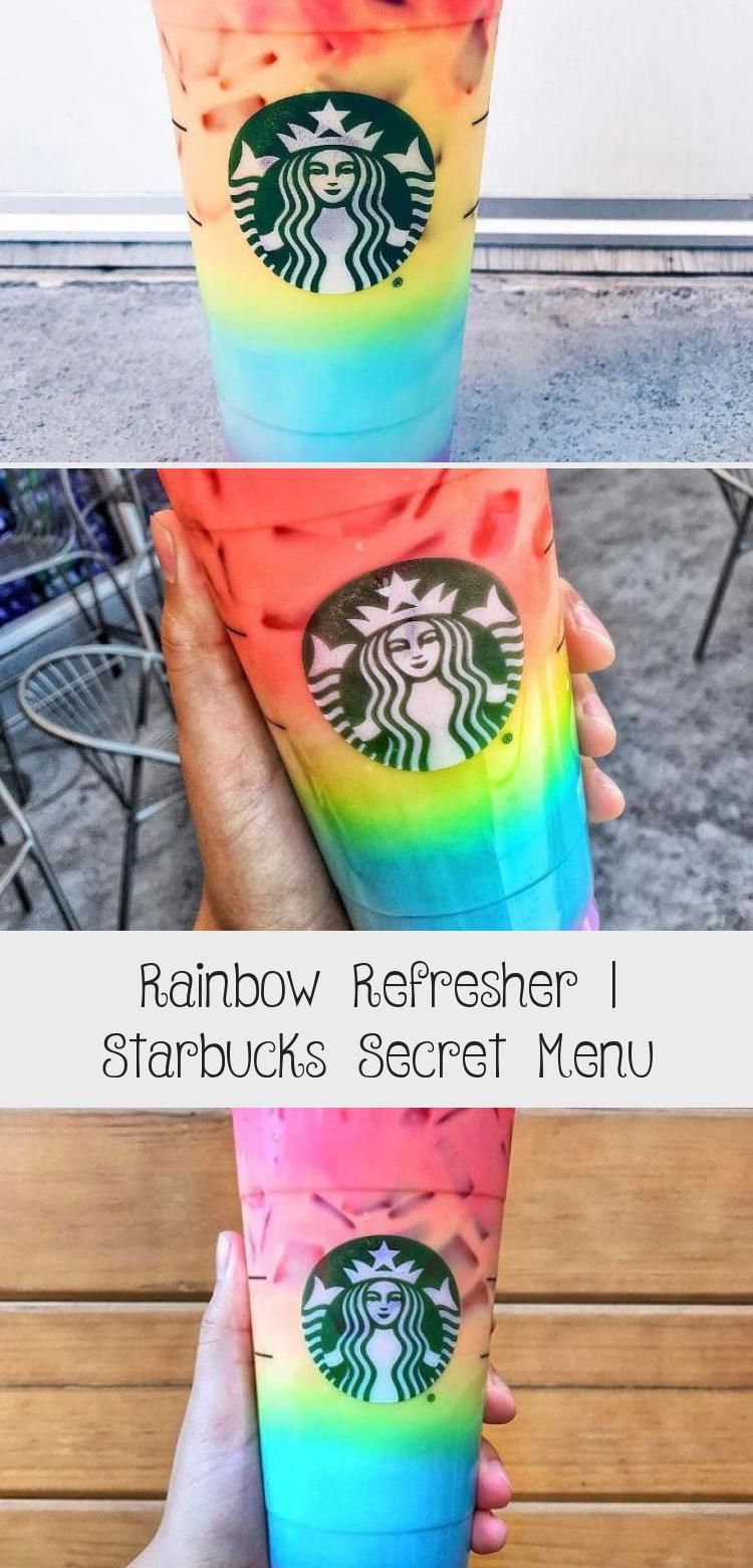 Rainbow Refresher | Starbucks Secret Menu | Starbucks Secret Menu #FoodandDrinkMenu #starbuckssecretmenudrinks