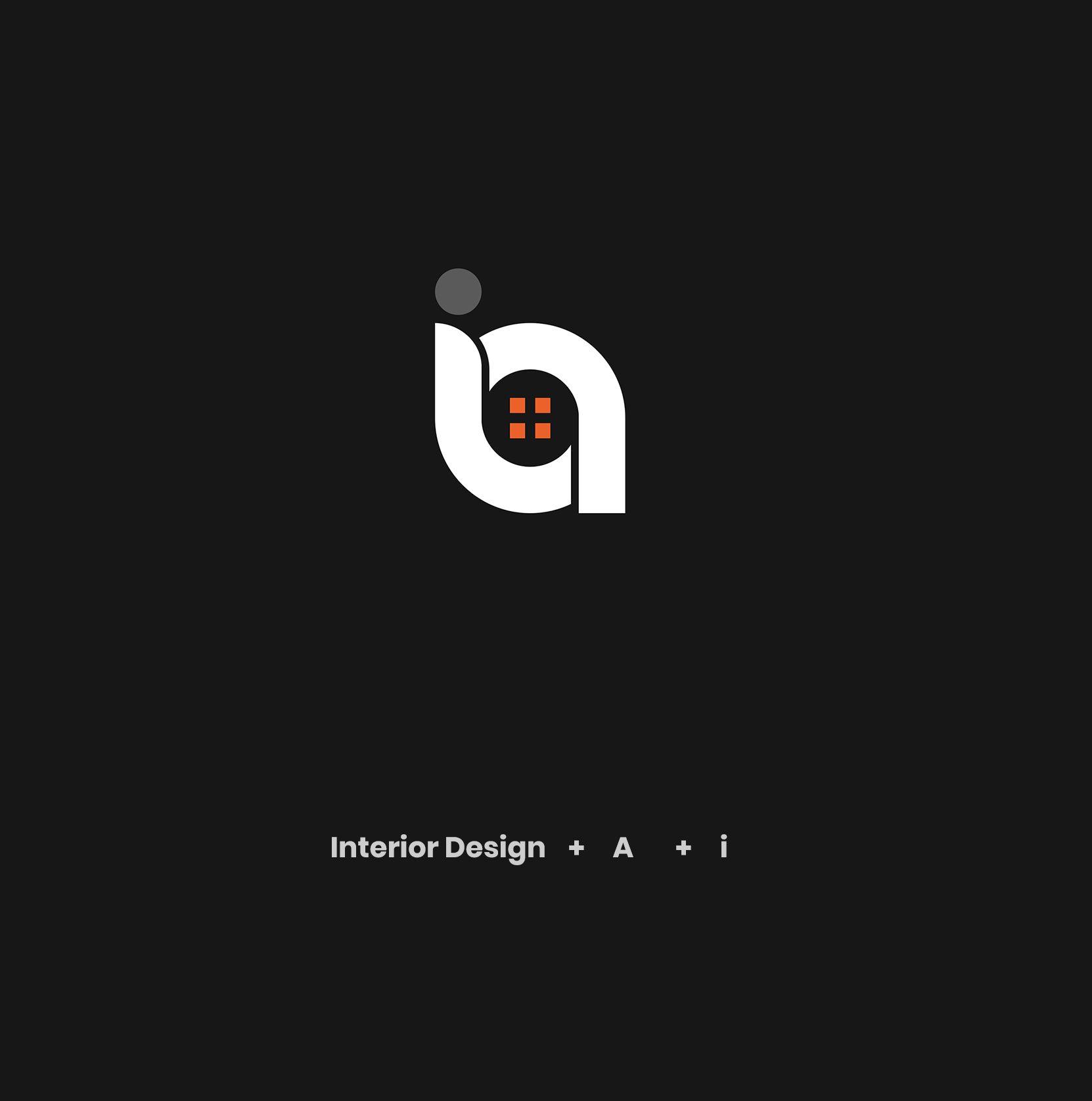 Interior Design, A , I logo in 2020   Logo design creative ...