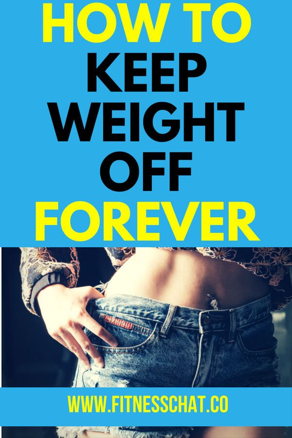 Best way to lose weight and maintain it