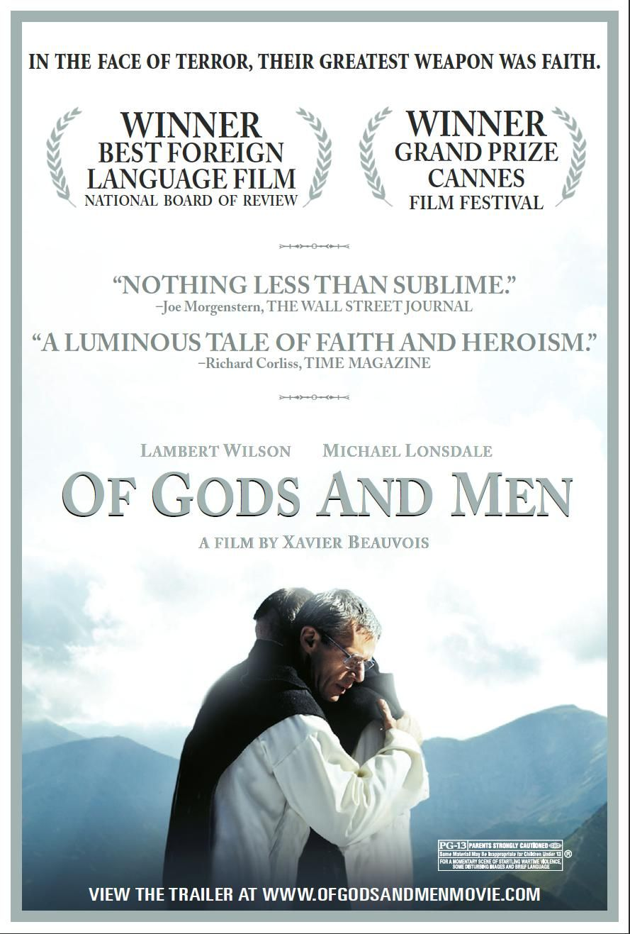 Of Gods And Men Rotten Tomatoes Man Movies Film Christian Movies