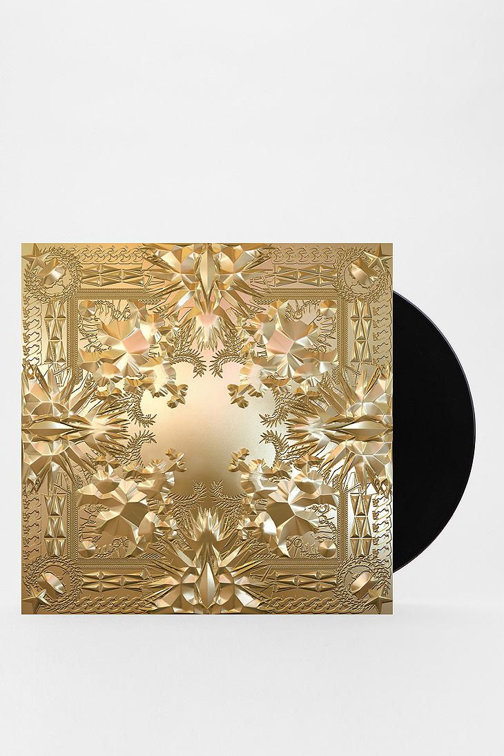 Jay Z Kanye West Watch The Throne 2xlp Poster Jay Z Kanye West Vinyl Album Art Kanye West