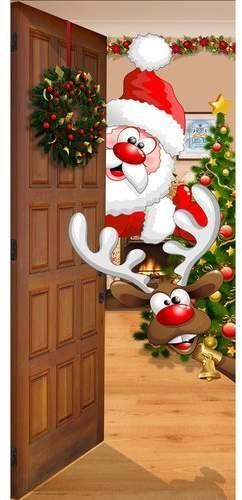 Front Door Mural Christmas Wallpaper Christmas Door Decorating Contest Christmas Art