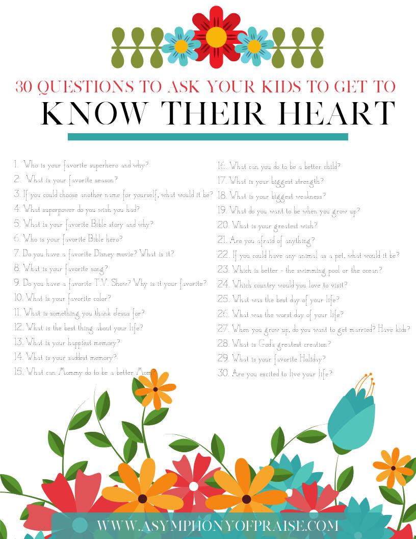 30 fragen zum kennenlernen