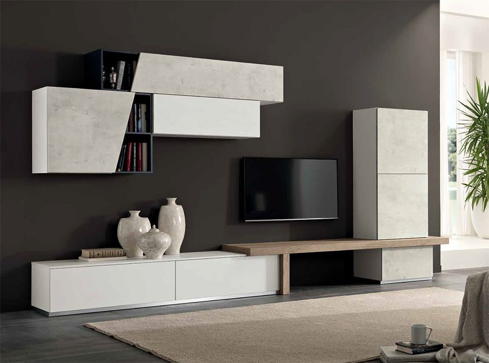 Modern Wall Unit Exential T09 by SPAR - $4,275.00 | myhomeideas ...