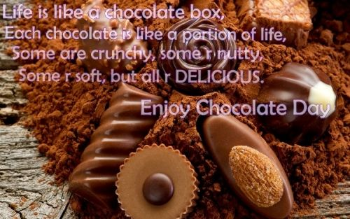 latest happy chocolate day sms quotes messages in hindi english